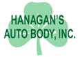 Hanagan's Auto Body Logo